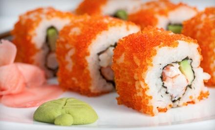 $15 for $30 Worth of Sushi and Teppanyaki-Style Japanese Cuisine at Hon Machi Sushi & Teppanyaki in Chandler