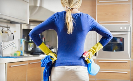 Two, Three, or Four Man-Hours of Eco-Friendly Home Cleaning from MaidPro (Half Off)