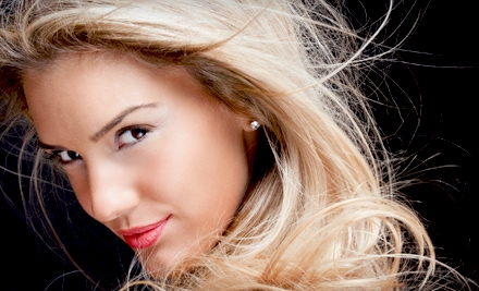 Haircut Package or Keratin Treatment at Tangles Hair Studio in Rockledge (Up to 67% Off). Three Options Available.
