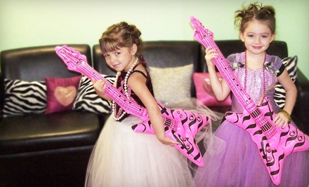 Mini Princess Pampering Sessions for Two or Three at Be Girly (Up to 57% Off)