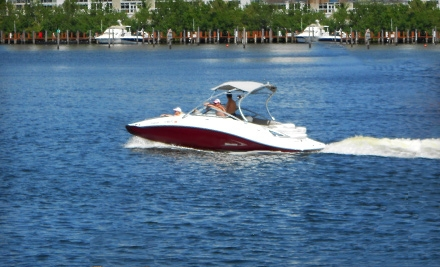$149 for a Four-Hour Boat Rental from SeaRide Watersports ($299 Value)
