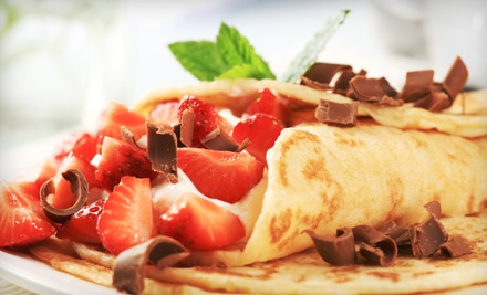 Crepes, Frozen Yogurt, and Smoothies or Five-Smoothie Punch Card at La Paix Café (Half Off).