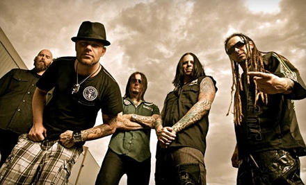 One Ticket to Five Finger Death Punch at Mohegan Sun Arena at Casey Plaza in Wilkes-Barre on November 26 (Up to $38.10 Value)