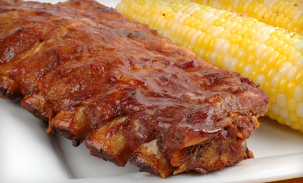 $10 for $20 Worth of Barbecue and Soul Fare at Doc's Q'in Pit Stop