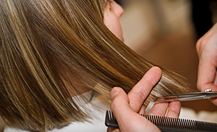 Haircare Package with Cut and Deep Conditioning or Basic Color from Laura Buske at Zina's Salon in Edina (Up to 55% Off)