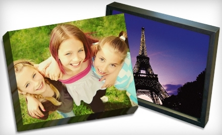 Up to 75% off Small, Medium, and Large Photo-Print Reproductions on Gallery-Wrapped Canvas from Picture It On Canvas