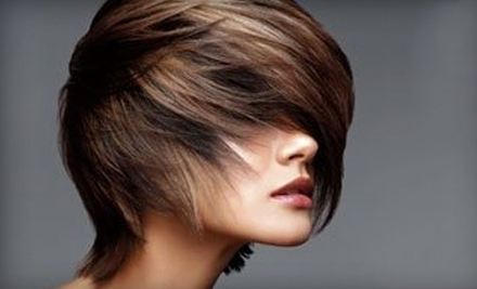 Cut and Highlights or Cut and Single-Process Color at Jessica's Color Room Salon in Middletown (Half Off)