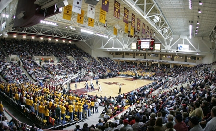 $8 for One Ticket to Boston College Basketball at Conte Forum in Chestnut Hill ($15 Value). Three Games Available.