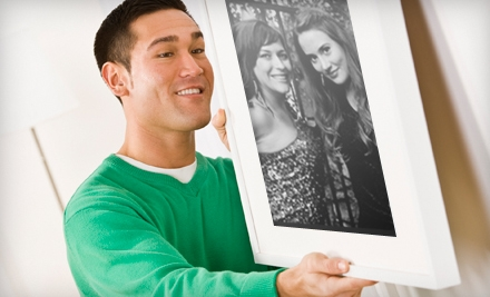 $45 for $100 Toward Complete Custom Framing at Eaze Custom Framing
