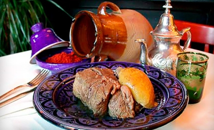 Moroccan Dinner for Two or Cooking Class with Meal for Two at Zitoune in Mamaroneck (Up to 56% Off)