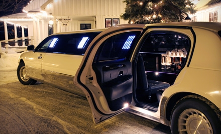 One-Way Airport Car Service or Holiday-Lights Limo Ride from Bella Viaggio Limousine (Up to 53% Off)