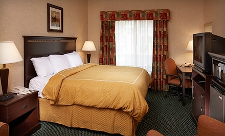 $59 for One-Night Hotel Package at Comfort Suites in Canton (Up to $119 Value)