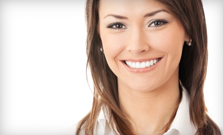 $129 for Chair-Side Zoom! Teeth Whitening or an At-Home Zoom! Whitening Kit at Hudson Dental Care (Up to $550 Value)