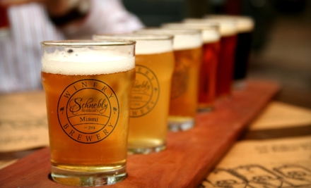 $25 for Beer-Tasting Package for Two at Schnebly Redland's Winery in Homestead (Up to $56 Value)
