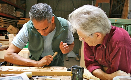 Introductory Woodcarving Seminar for One or Two at Calvo Studio in Gloucester (Up to 66% Off)