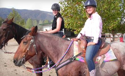 Rodeo Experience or Riding Lesson with Trail Ride at Rockin' L & D Ranch in Escondido (Up to 61% Off)
