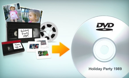 $39 for $100 Worth of Home-Video Conversion to DVD or Blu-ray from YesVideo