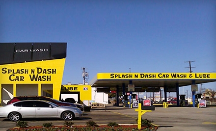 Three Deluxe, Wheel Deal, or Preferred Car Washes at Splash N Dash Car Wash (Up to 63% Off)