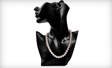 $79 for an Authentic 18-Inch Pearl Necklace with 14-Karat White-Gold Filled Clasp from My Pacific Pearls ($450 Value)