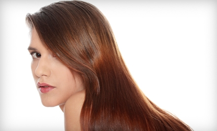 Hair-Treatment Services at Divine Creations Hair Designs in Pearland (Up to 73% Off). Two Options Available.
