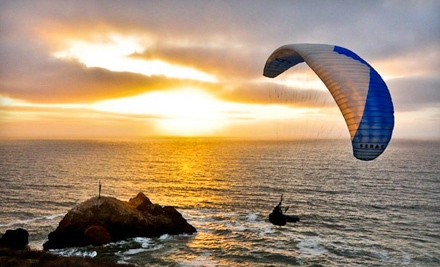 $100 for a One-Day Introductory Paragliding Lesson from Lift Paragliding ($200 Value)