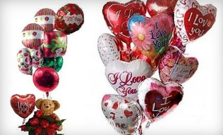 $39 for a Balloon Bouquet with Teddy Bear From Charter Surplus Marketing Foundation ($80 Value)