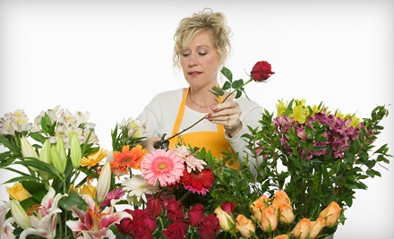 $35 for Three Flower-Arranging Classes at Field of Flowers ($75 Value)