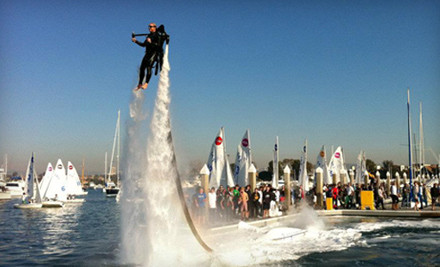 Up to Half Off Jetpack Flight in Newport Beach